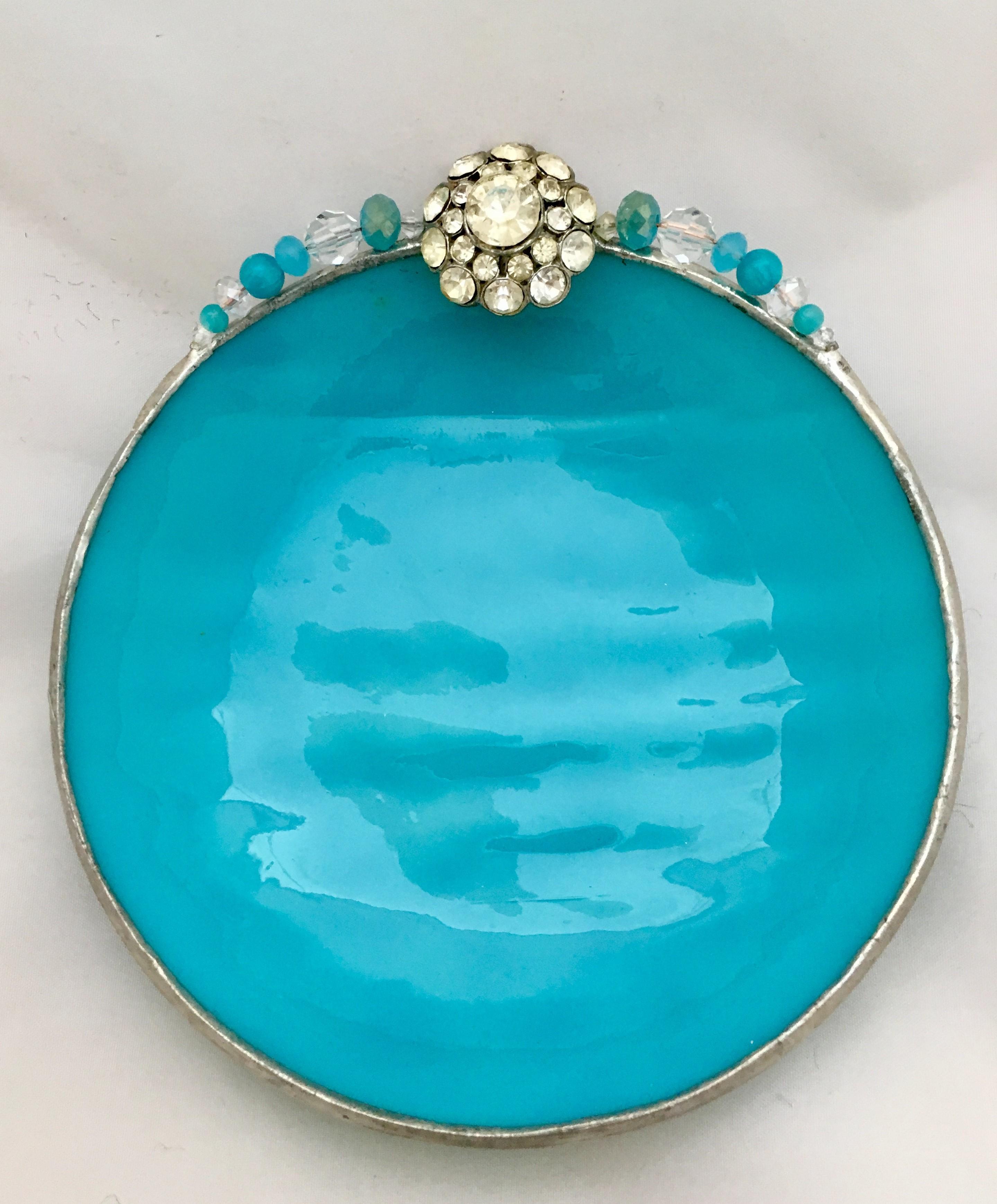 Vintage Jeweled Flower