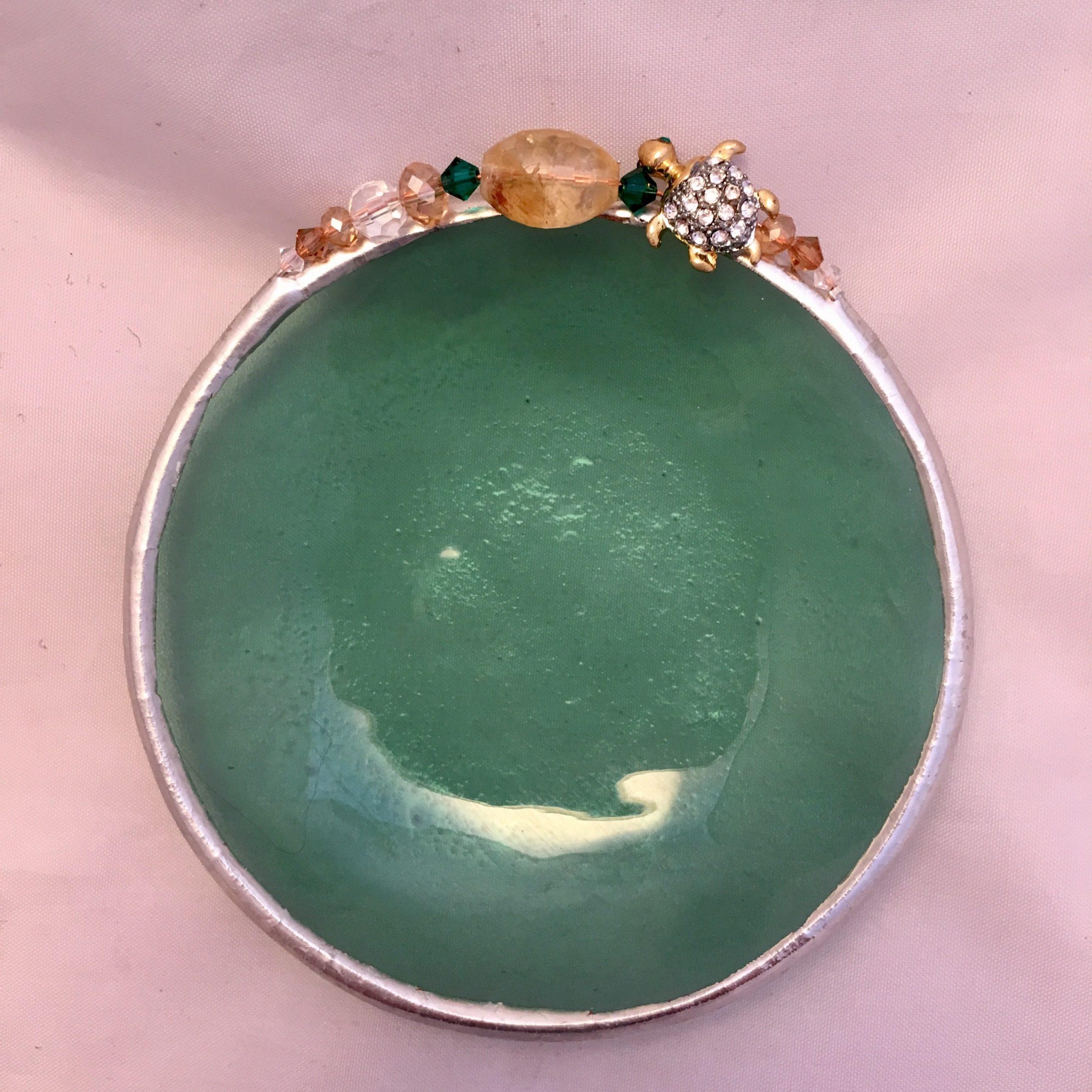 Green Jeweled turtle